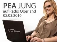 Interview auf Radio Oberland, 02.03.2016