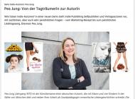 Interview für Buchreport: Von der Tagträumerin zur Autorin