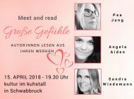Lesung in Schwabbruck: Große Gefühle